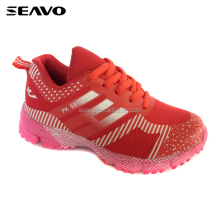 SEAVO SS17 fashion China camouflage red offset masked design kids sport shoes