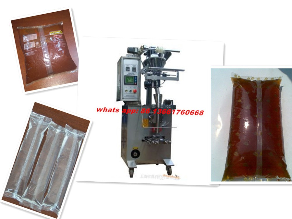 tomato paste filling and sealing packing machine