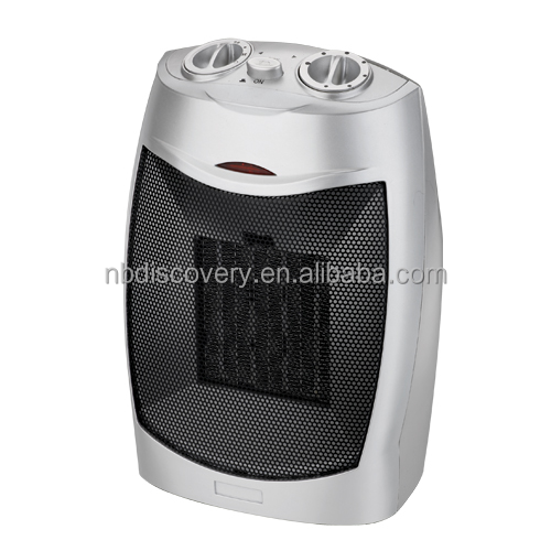 1500W Electric Room Ceramic PTC Fan Heater With Hidden Handle