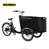 cargo electric tricycle with cabin