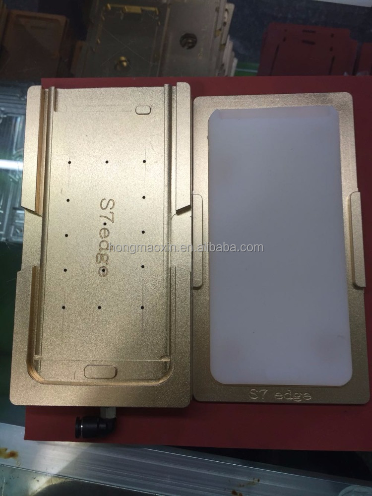 Aluminium Alignment Mould For samsung s7 edge G9350 Laminator mold metal for LCD front glass Location