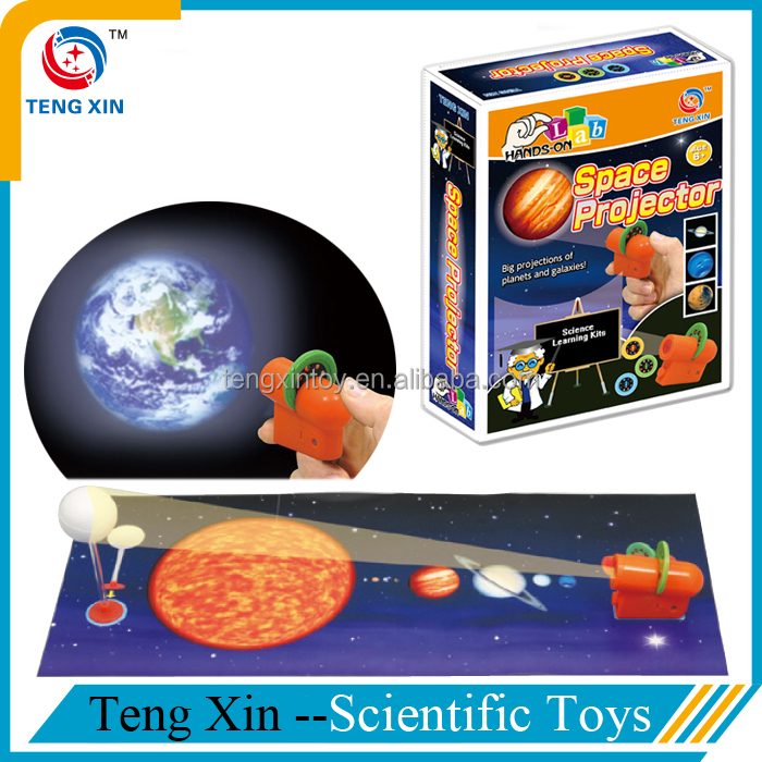 Space projector children learning toys