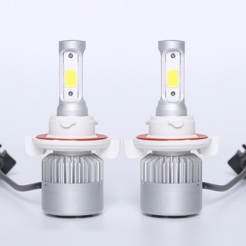 auto lamp 9004 9005 9006 9007 super bright 80w 9000 lumen cob car led headlight kit