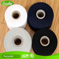 Cnlucky factory regenerated cotton/polyester mixed yarn