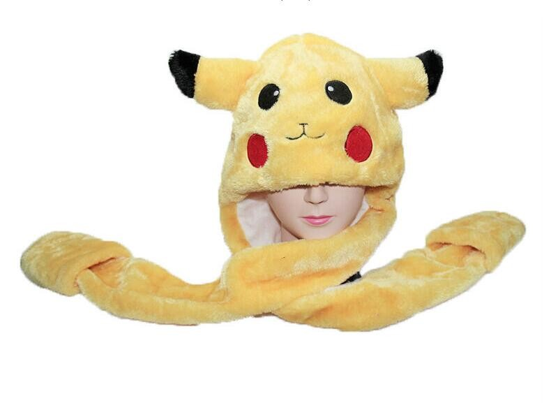 1pcs Creative Pikachu Plush With Gloves Cosplay Long Pokemon Plush Kids &Girls Christmas Gifts