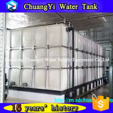 customizable glass fiber reinforced plastic grp water tank/ sectional fiberglass plastic water tank