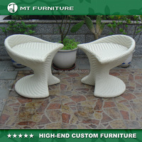 Tree Roots Furniture Stool Patio Rattan