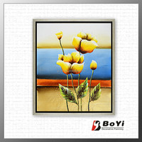 Famous Beautiful Poppy Flowers Framed Picture