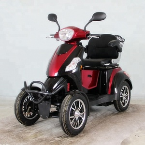 Cheap Similar ATV 4 Big Wheel Full Suspension Electric Mobility Scooter with Electric brake