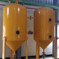 Vegetable oil production line produce RBD cooking oil