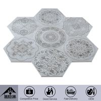 Excellent Quality Embellished Professional Design Custom Fitted Ceramic Tiles Factories In China Decorative Garden Tile