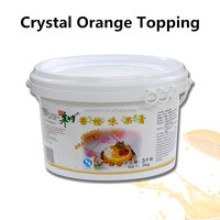 Fresh Orange Topping Cream Fruit Jam Product 3kg