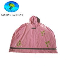 Cheap kids waterproof poncho rain
