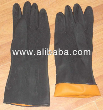 Household and industrial gloves