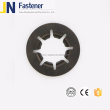 spring steel bearing retaining washer