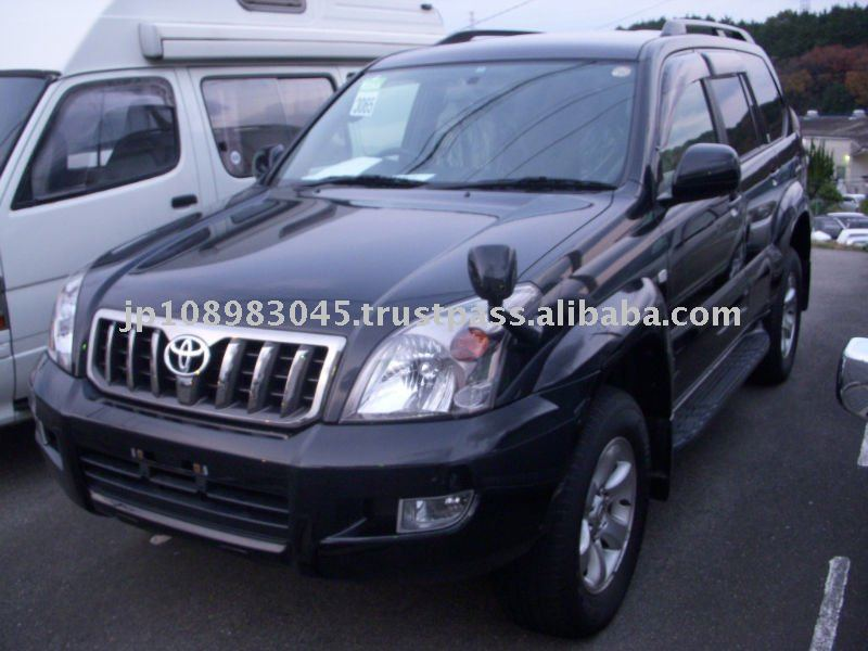 Toyota Land Cruiser Prado 4WD Japanese Used Cars