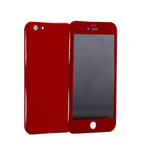 Electroplating Plastic bumper 3 in 1 phone back cover case for iphone 6s
