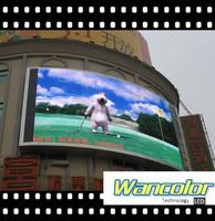 High resolution P10 full color led digital signage display
