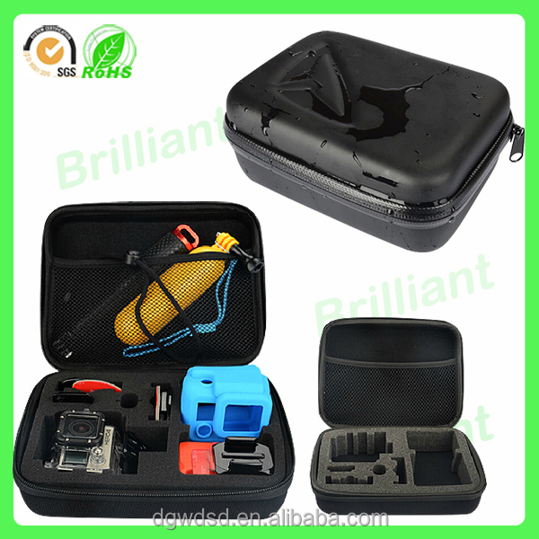 Custom packaging protective EVA hard waterproof carrying case for electronics