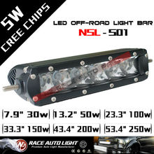 NEW Arrival!LIFETIME warranty 5w CREE Rally led light bar off road