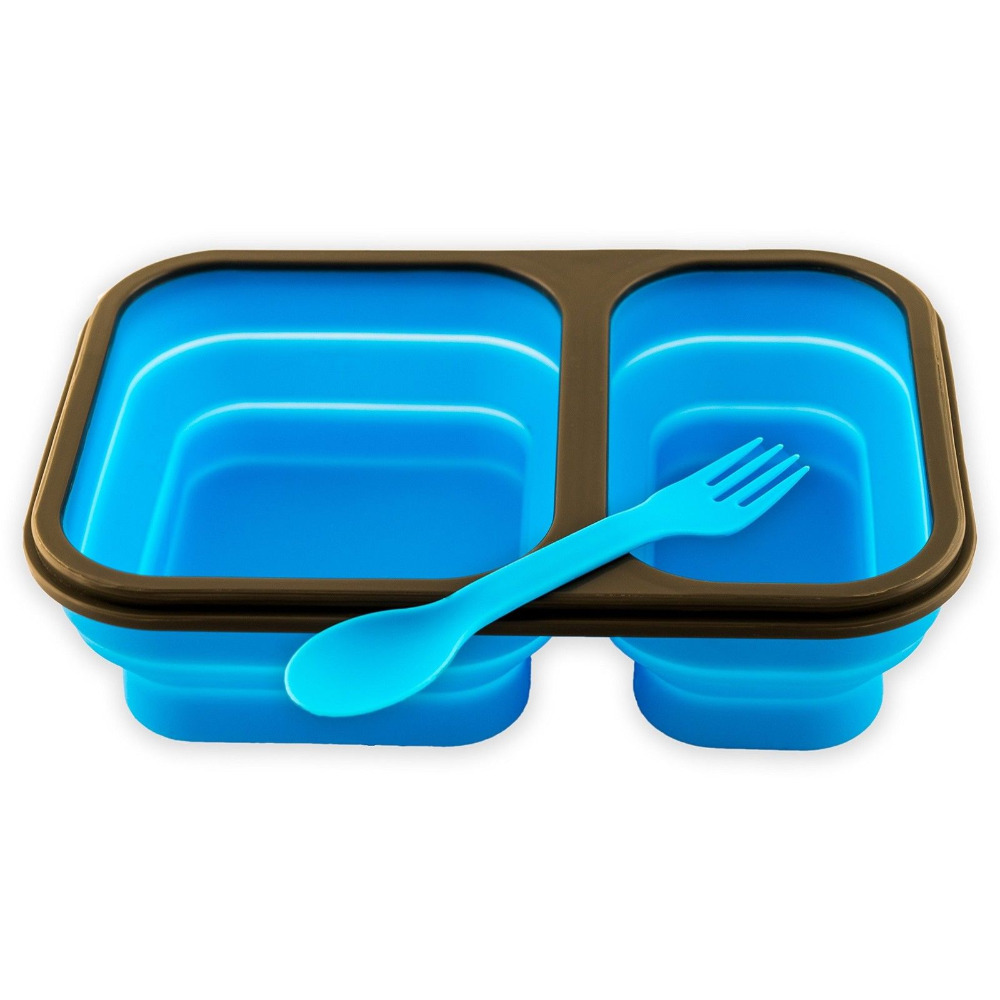 Wholesale Practical Bento Storage Boxes Silicone Foldable Lunch Box