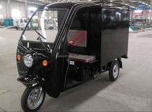 Three Wheel Electric Moped Cargo Adult Electric tricycle with passenger seat Cargo bike electric vehicles