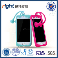 HOT fashionable silicone mobile phone case