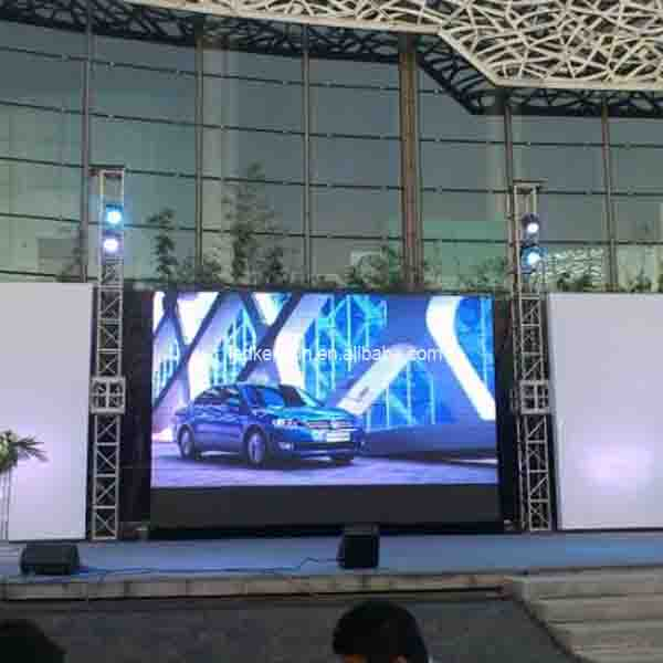 P6.0 Outdoor lightweight Magnesium Alloy LED display for Stage Rental <strong>Advertising</strong>