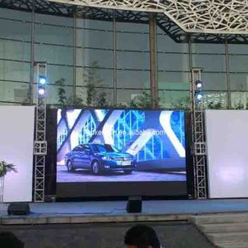P6.0 Outdoor lightweight Magnesium Alloy LED display for Stage Rental Advertising