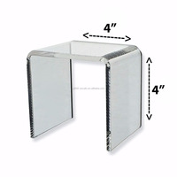 rotating clear acrylic magic photo cube frame wholesale