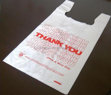 small clear plastic vest singlet bag
