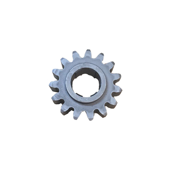 Hoist reduction gear driving gear pinion