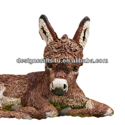 Hot Sale For Lawn Ornament Small Donkey Statue