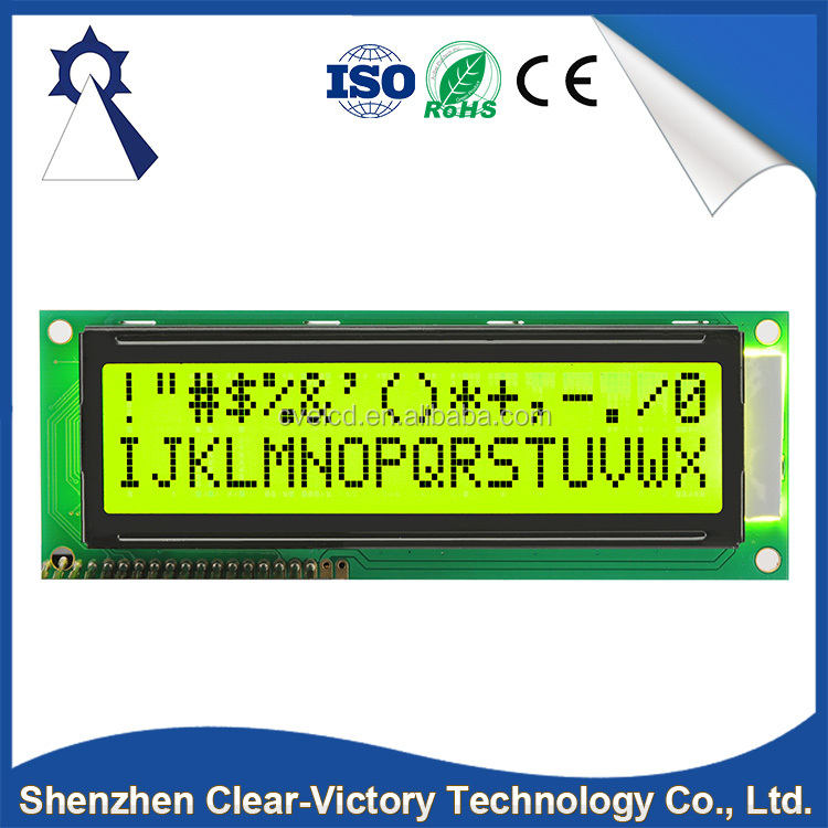 sunlight readable 16x2 lcd display module buying online in China