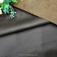 Knitted 100% polyester suede fabric for sofa
