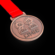 New Design Custom Bronze Stamping Sports Medal