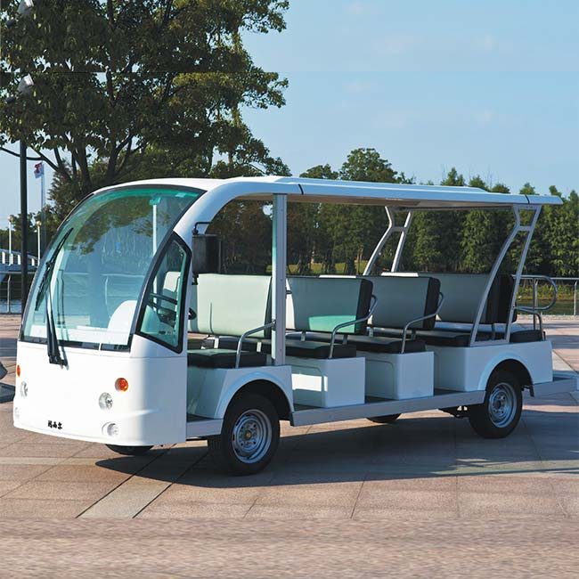Marshell brand 14 seater electrical buggy 72v (DN-14) with CE approved