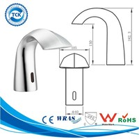 CUPC infrared automatic water tap bathroom basin faucet mixer