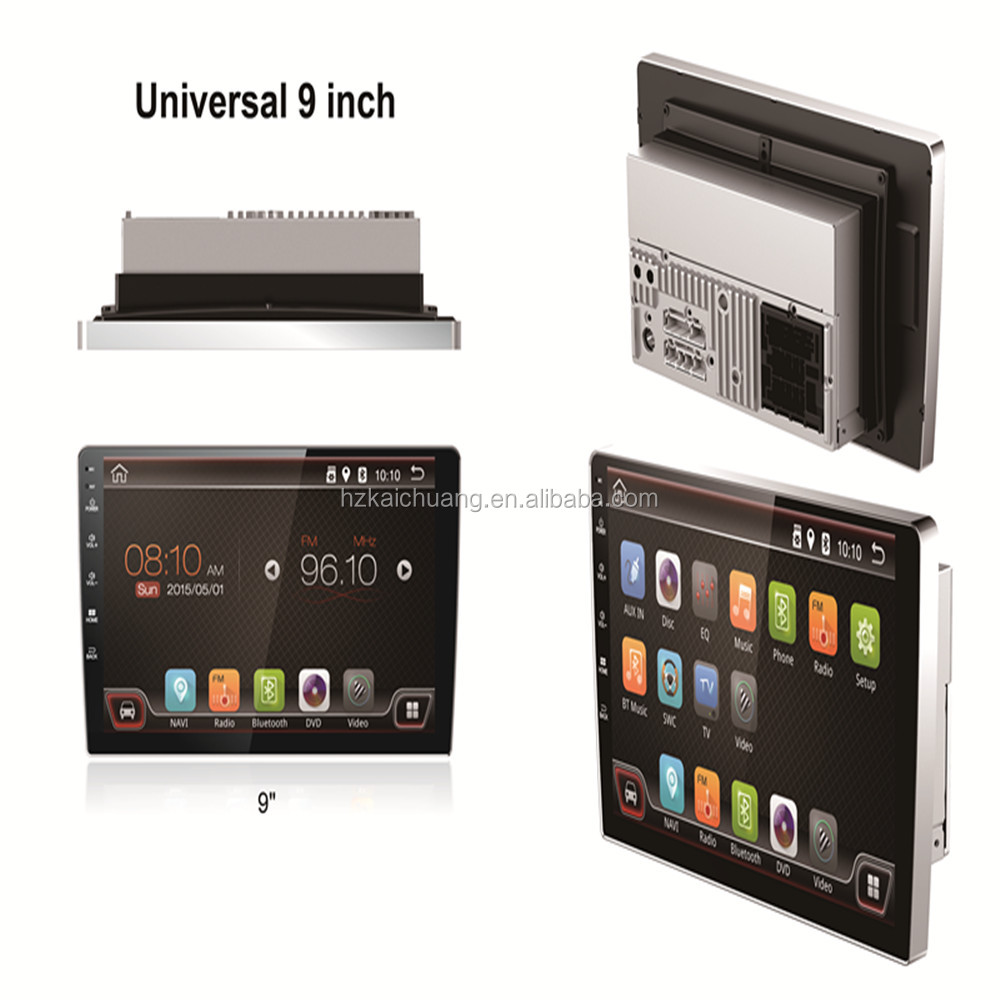 Double Din 9 Inch Android Car Audio System for Volvo S40 DVD GPS Car DVD Player Navigation with Wifi and 3G