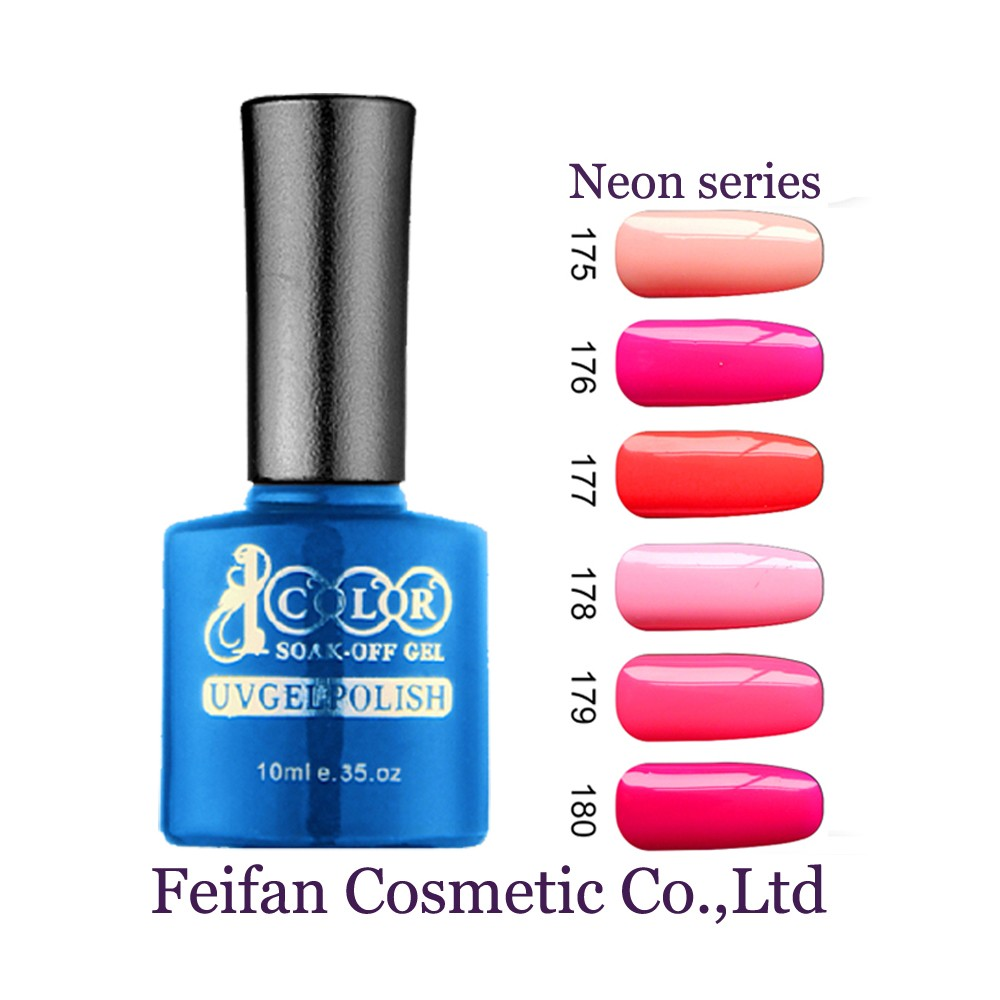 Fei Fan Color 1000 UV Gel Nail Polish With Free Samples For Wholesale Supplies