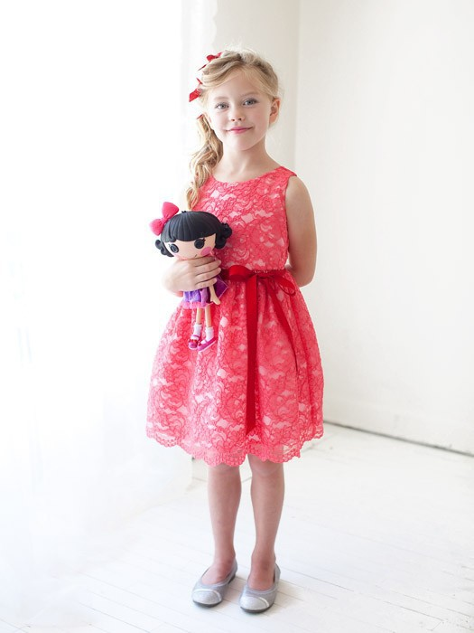 girls formal party frocks for kids lace