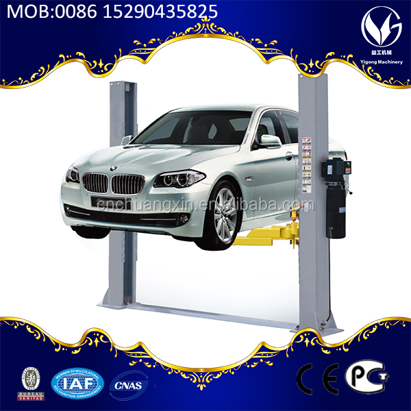 China factory direct sell 4 Ton Electric Two Post Car Lift
