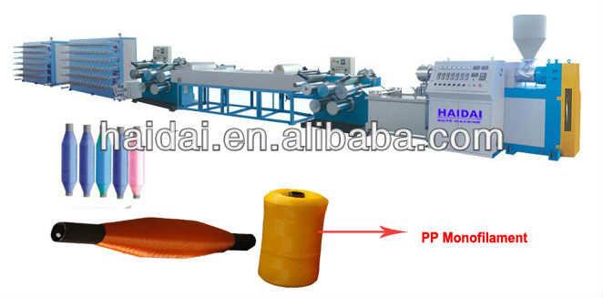 PET/NYLON twisted rope/cord making machine production line/plant/series