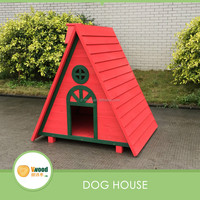 New deisgn wooden dog kennel with A-frame