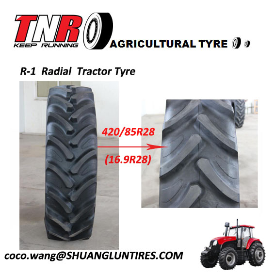 Triangle agriculture tyre Havester tyre 420/85R28