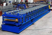YX51-233-699/YX35-187.5-750 Double Layer Roof Panel Roll Forming Machine