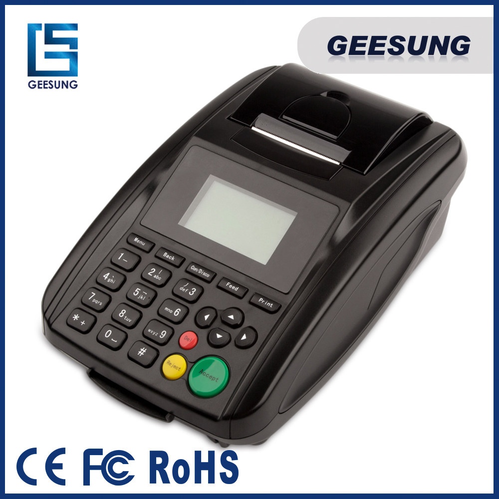 Wireless SMS POS gprs printer for chain store, 58mm thermal gprs printer