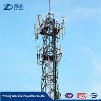 Signal Transmission Wireless Telecommunication Tower 45