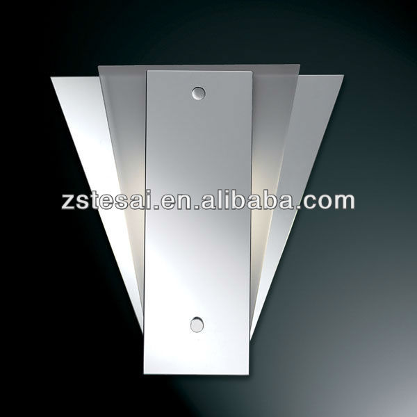 Unique design fan shape wall bracket light fitting for interior E27*1 wall light MB3155