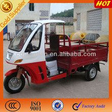 Chongqing factory motorized cargo tricycle for passenger with cab